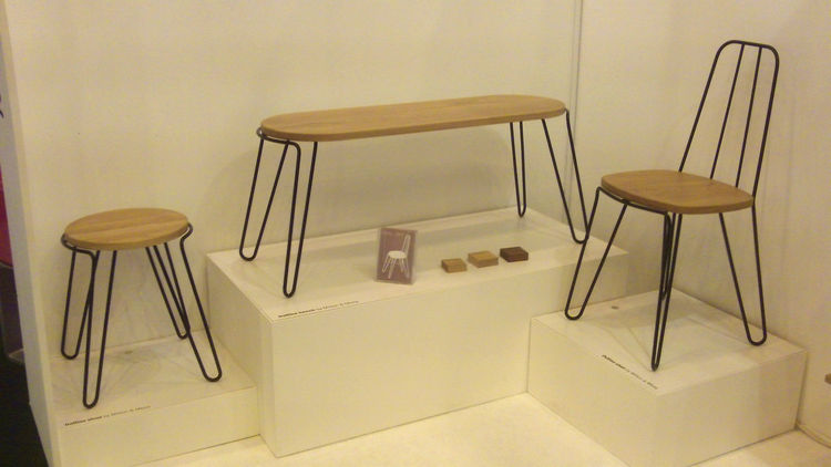 "Jody Milton of <a href=""http://www.miltonandmees.co.uk/"">Milton & Mees</a> works days doing exhibition design, so he doesn't have much time left to create and market the furniture and interiors that are close to his heart. Milton presented the product of"