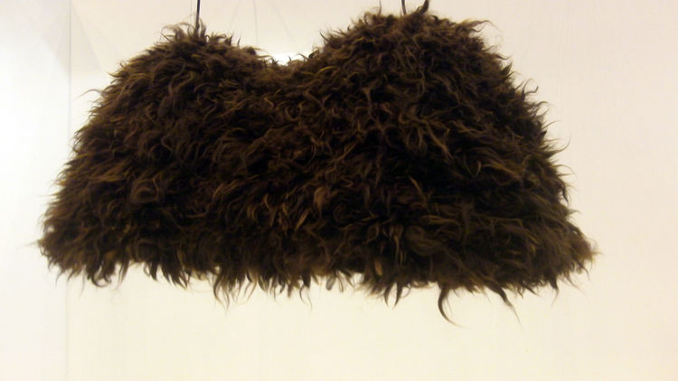 """Part of young Chilean studio <a href=""""http://www.gt2p.com/en/"""">gt2P</a>'s Digital Crafting Collection, the Gudpaka marries digital manufacture with traditional craftsmanship. It is made from waste Alpaca wool from Northern Chile that is not suitable for s"""