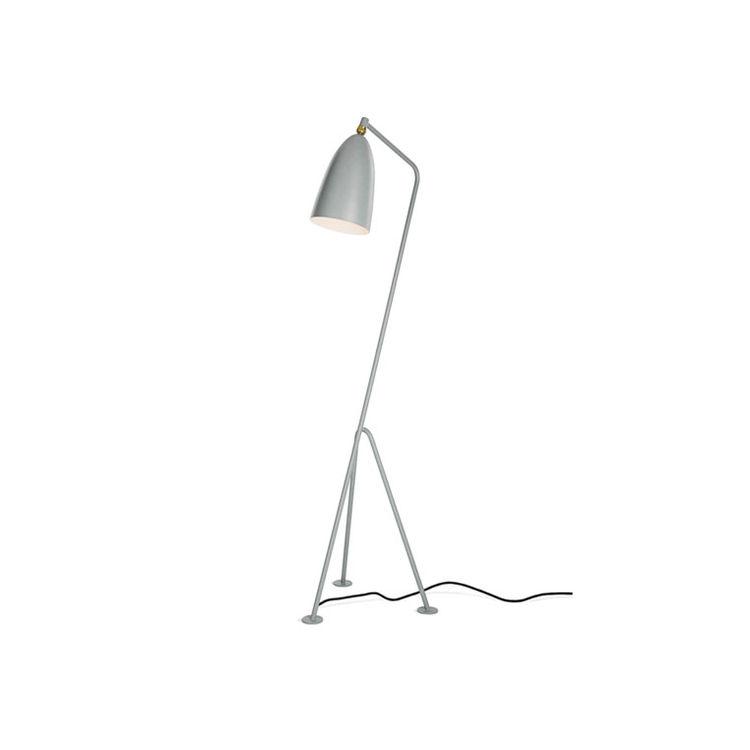 Grasshopper lamp by Greta Grossman