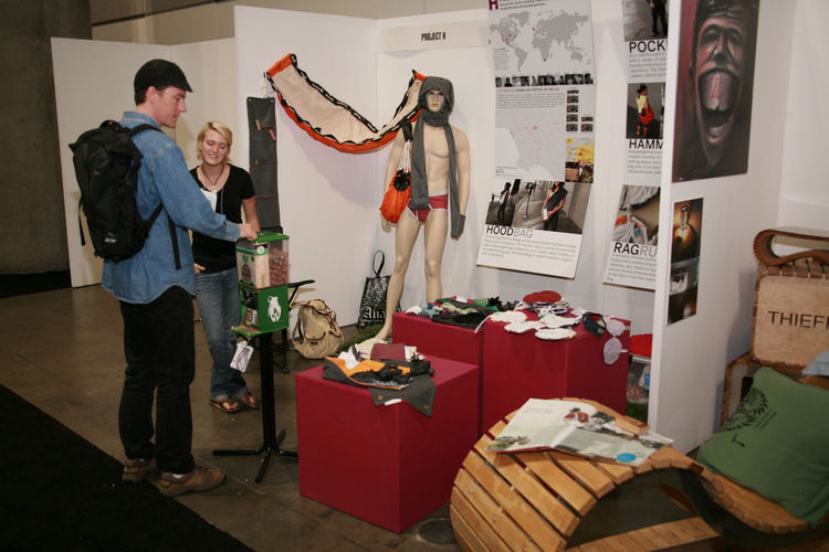 "<a href=""http://www.projecthdesign.org/"">Project H</a> joined us to display products designed for social good. Founded in January 2008 by Emily Pilloton, Project H promotes designs for the wider good and is currently headquartered in North Carolina workin"