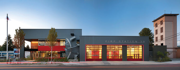 Fire Station 39 by Miller Hull Partnership.