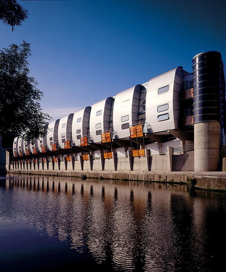 The Museo del Acero Horno 3, designed in 2007 in Monterrey, Mexico. Image courtesy Paul Rivera.