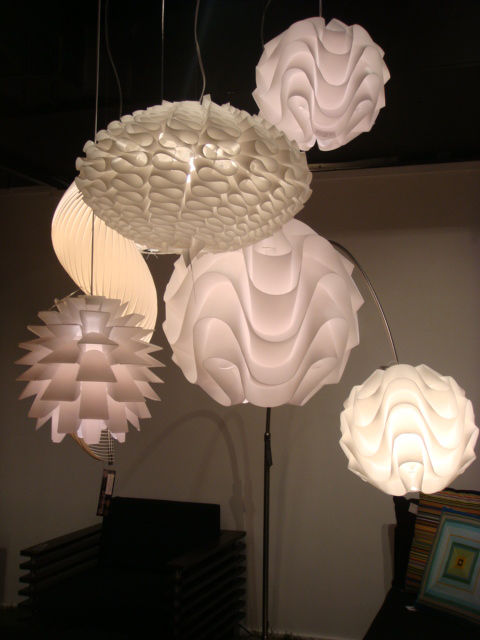"A selection of pendant lamps at <a href=""http://nuevo-furniture.com/"">Nuevo</a>."