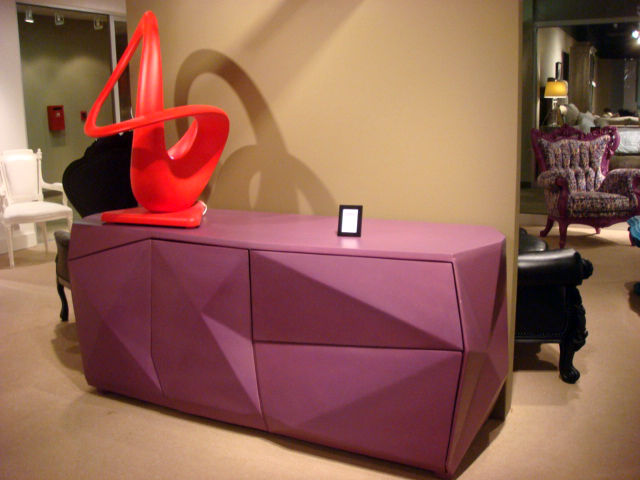 "A very 1980s credenza at <a href=""http://www.polart.com.mx/"">PolArt</a>."