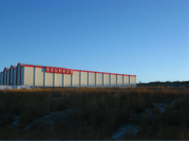 "In an empty field outside of Reykjavik looms <a href=""<a href=""http://www.bauhaus.info/"">Bauhaus</a>, the German home improvement store. The company finished building this location, the first in Iceland, in the unlucky year of 2008. It has yet to open for"