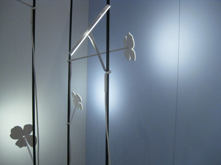 We can easily imagine a whole forest of Ikebana lighting, and at only 7.5 watts, it seems equally feasible financially.