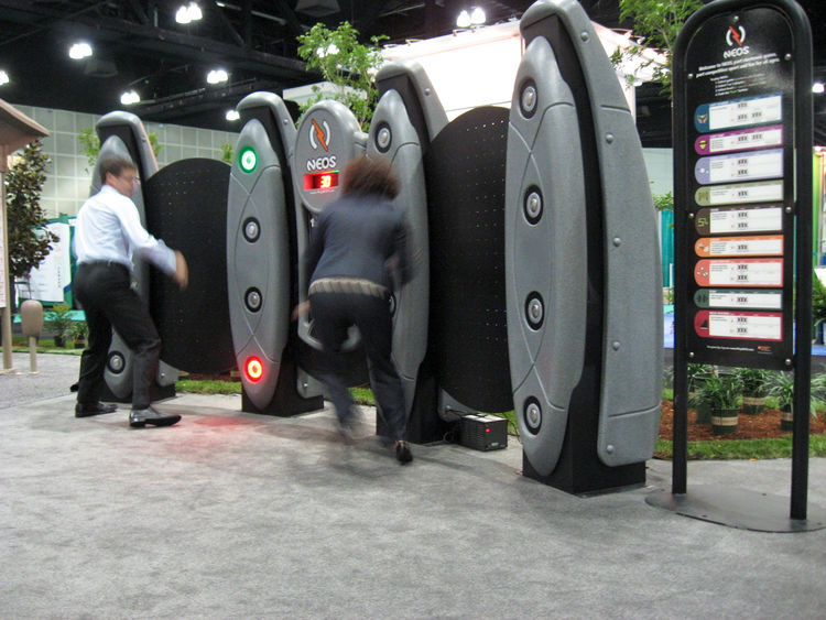 Playworld Systems has found ways to make staying active simple and enjoyable. The LifeTrail outdoor exercise kiosks provide self-guided workouts that can be performed while sitting or standing and at an individual's own pace. For livelier workouts, the co