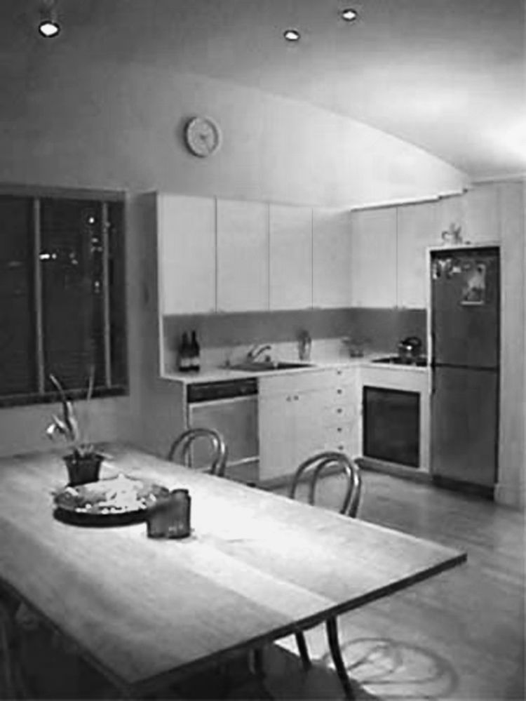 "Calder Smith's kitchen before renovations. He says the space possessed ""no redeeming qualities."""