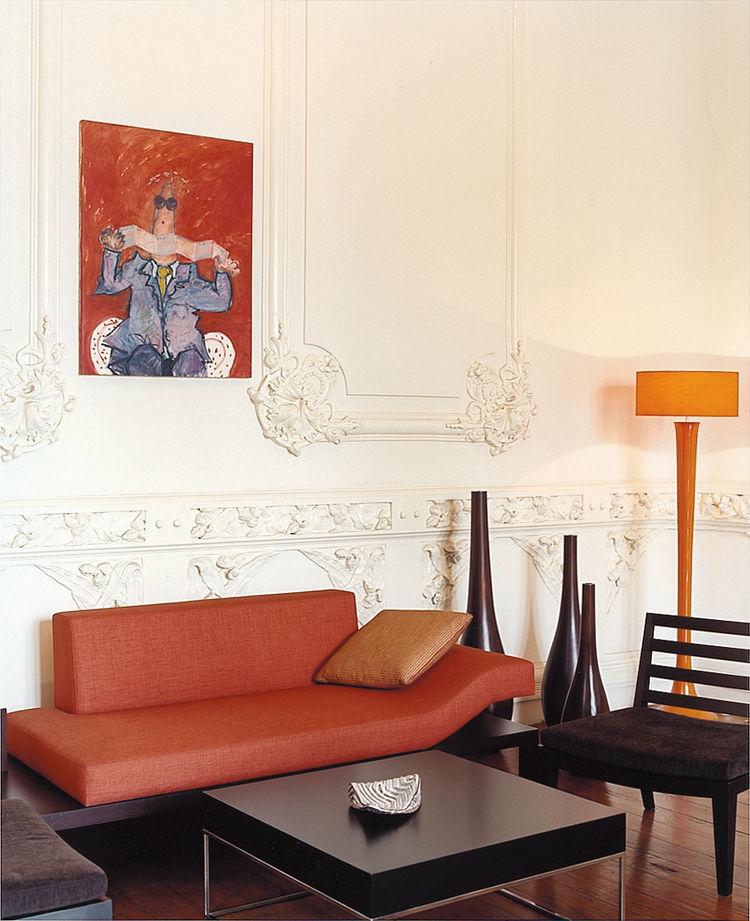 The prodigious cultural production of Peru includes a sofa by Eva Pest.
