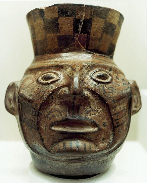 A Huari head.