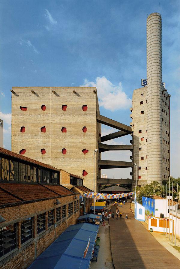 The Fábrica da Pompéia, a São Paulo cultural center Bo Bardi designed in 1986.