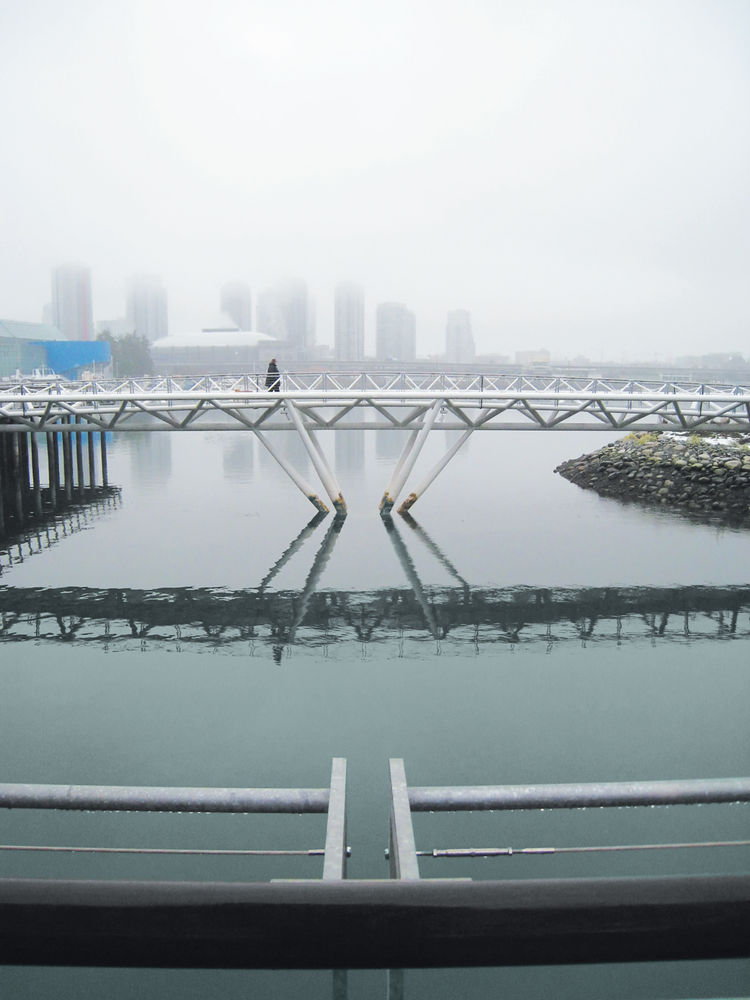 Canoe bridge in Vancouver, British Columbia