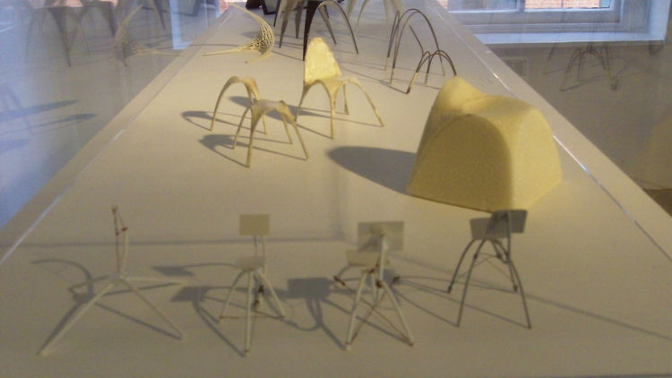 Models for chairs by Bram Geenen.
