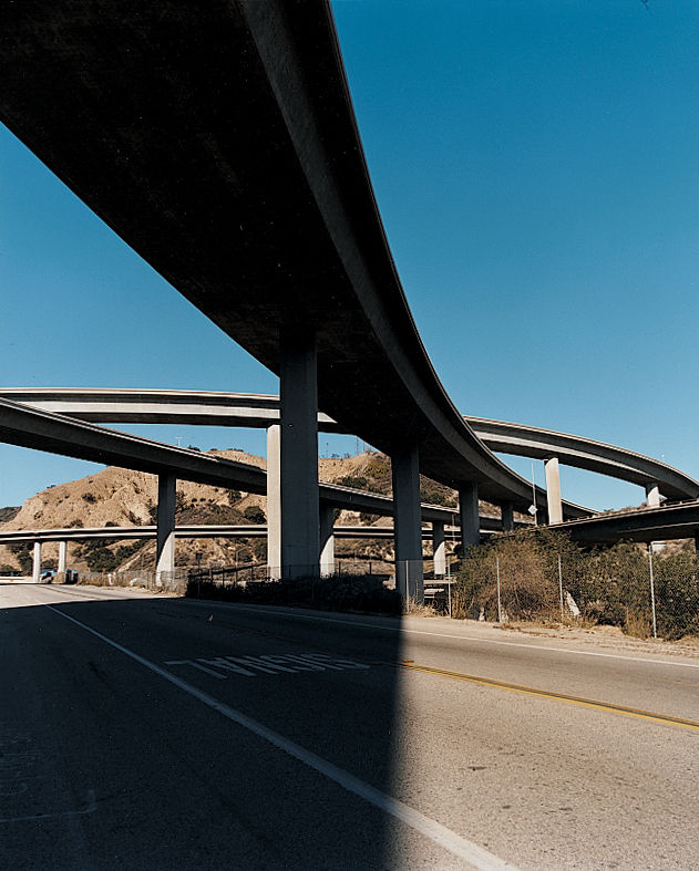 Taken on their own, as sculptures in concrete, the region's freeways are an unappreciated source of beauty, an experiential artwork you can drive on.