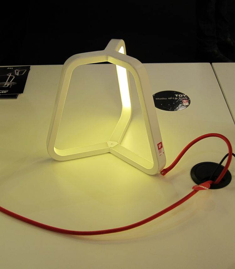 This is another LED light, this time a desktop version from Martinelli Luce.
