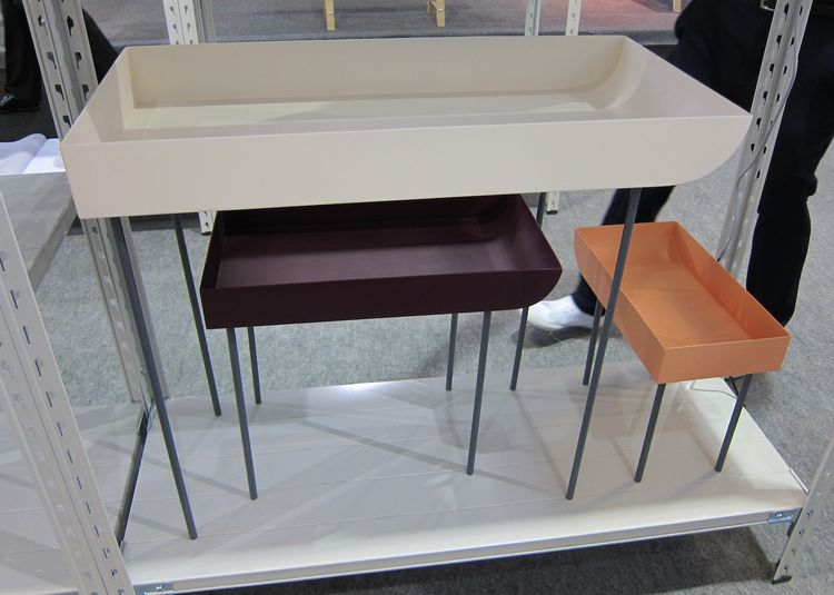 Also at d.lab: these spindly tray tables, handy for a living room or by a front door.<br /><br /><br />That wraps up my Maison & Objet roundup for 2011! Would love to hear your comments.