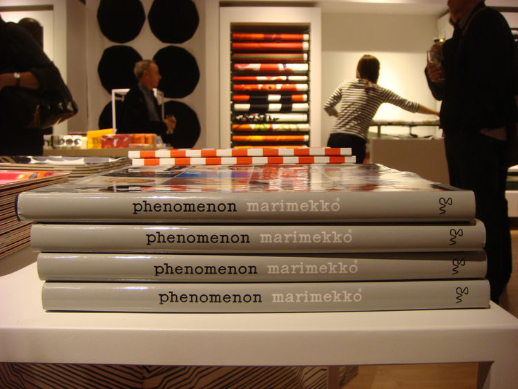 For design buffs, there are a couple monographs detailing Marimekko's history and philosophy.