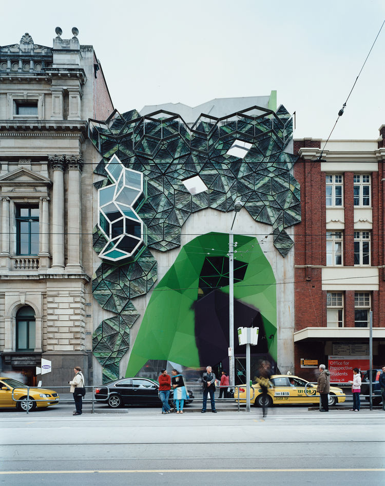 """For me, Storey Hall was the start of a new Melbourne,"" says Bennetts of the building on the RMIT campus by architects Ashton Raggatt McDougall. ""It broke ground [in the mid-'90s], and confident, rigorous expression has flourished ever since."""