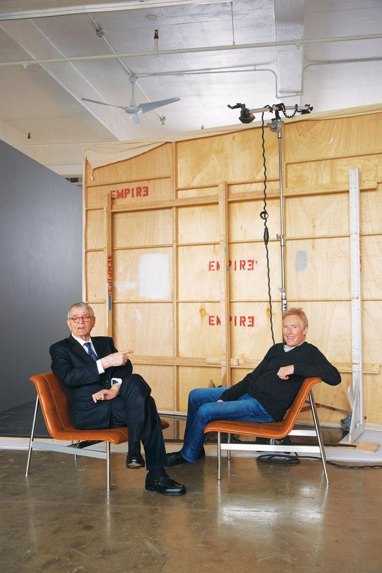 Photo of furniture designer Charles Pollock