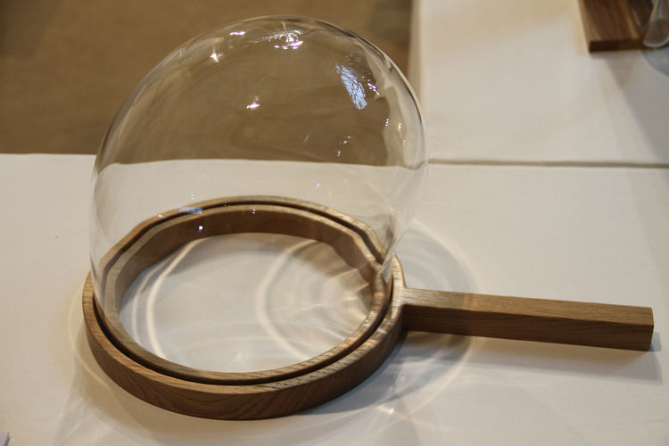 "Part science experiment, part bell jar, this limited-edition object is part of a collection entitled Here and T(here), created by Italian designers <a href=""http://www.fabrica.it"">Fabrica</a> for the Rome gallery  <a href=""http://www.secondome.eu/"">Second"