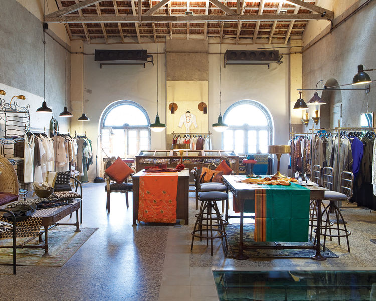 Bijoy Jain of Studio Mumbai designed the interior of Bungalow 8.