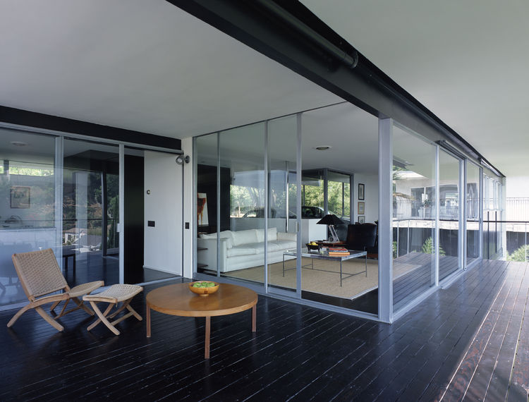 The Lew house by Richard Neutra.
