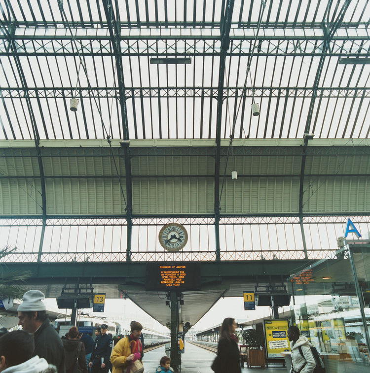 "Erwan advises that Paris's finest architecture can be found in its train stations—such as the Gare de Lyon pictured here. ""I love all those 19th-century buildings created by engineers who worked in metal,"" he adds."