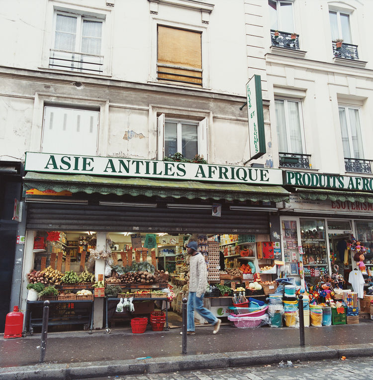 The rue du Faubourg du Temple cuts through lower Belleville and its cultural cross sections: Chinese dim-sum palaces to halal butchers, French pastry shops to bric-a-brac stores serving a variety of ethnic communities.