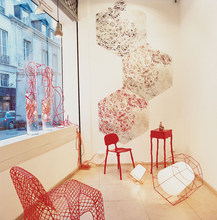 The ToolsGalerie in the Marais district spotlights the work of young French designers.