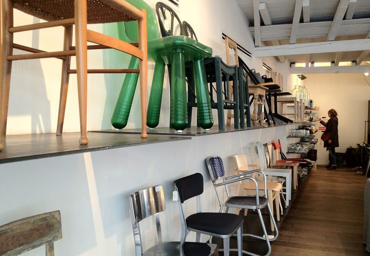What's especially wild about Merci is that the owners have convinced very established brands to sell here, while funneling all profits to a children's charity in Madagascar. The home goods section is excellent, with a wide range of small utilitarian goods
