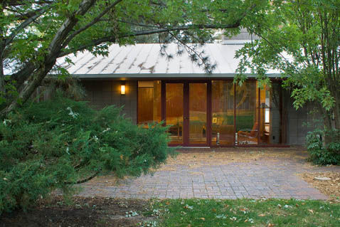 For those cold Colorado Winters, Sommerfield and Pyatt replaced some of the original windows and doors to minimize heat loss.
