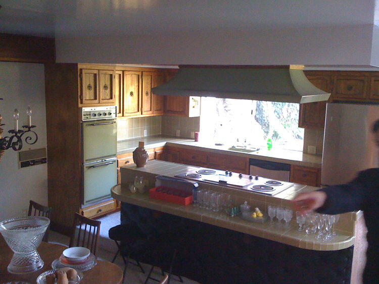 "The old kitchen and dining area. Photo courtesy <a href=""http://www.curtispopp.com/"">Curtis Popp</a>"
