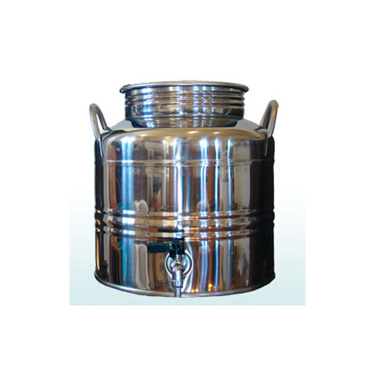 "<a href=""http://www.reformschoolrules.com/pc/fusti/homeec/Stainless+Steel+Fustis"">Stainless Steel Fusti</a><br />Originally used to dispense olive oil we use our fusti's for serving some of the best tasting water you've ever had. They look so pretty on a"