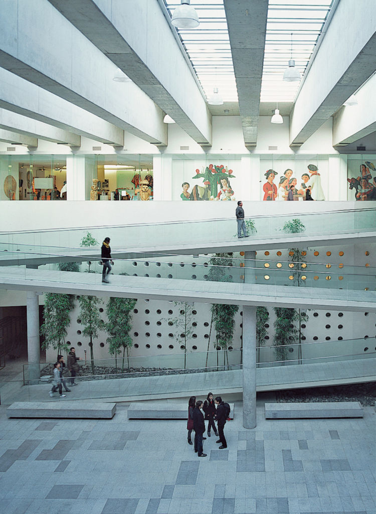 The subterranean Centro Cultural Palacio La Moneda lies beneath an esplanade but is awash with natural light. The galleries display an array of Latin American art.