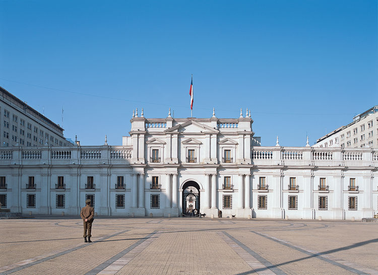 Palacio de la Moneda, a late-18th-century colonial presidential palace, is now the government seat. A stroll through the inner patios is particularly serene.