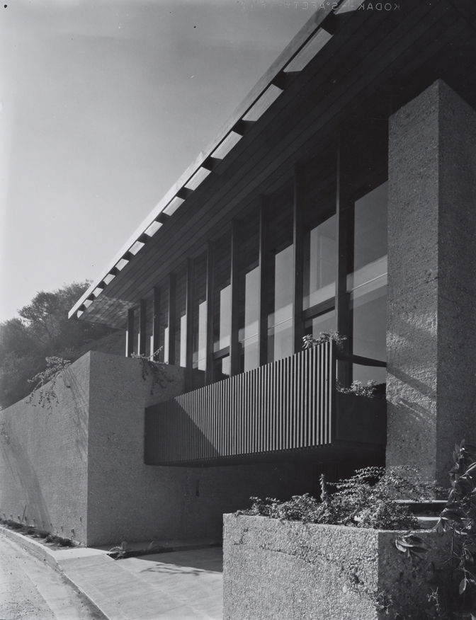 Having fallen into great disrepair and almost subjected to the wrecking ball until Shulman's original photographs were found on the property and used for a historically accurate renovation, Carl Louis Maston's 1962 Hillside House still survives. The home