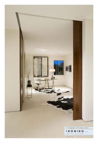 Kilrenney House<br /><br /> Submitted by: Name not provided<br /><br /> Designer's Description: <br /><br />How can a door be more than a door?  This contemporary home's open plan necessitated a unique response to spatial definition. How to keep a home of