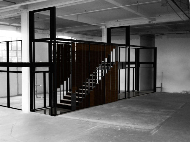 Spacings<br /><br /> Submitted by: Name not provided<br /><br /> Designer's Description: <br /><br />The SPACINGS sliding door system concept is based on intervals and stems from the patterned arrangements of steps in a staircase and metal stud wall const