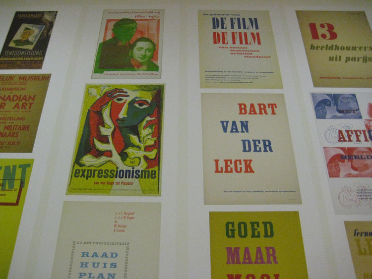 A selection of posters from 1943 to 1952.