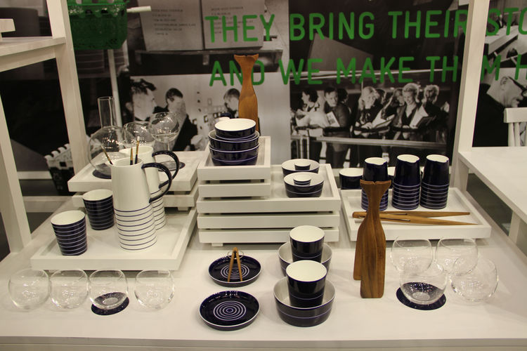 "A new release from <a href=""http://www.designhousestockholm.com/"">Design House Stockholm</a>—Catharina Kippel has added a deep cobalt blue to her popular <a href=""http://www.designhousestockholmusa.com/tabid/226/default.aspx?txtSearch=bono"">Bono collectio"