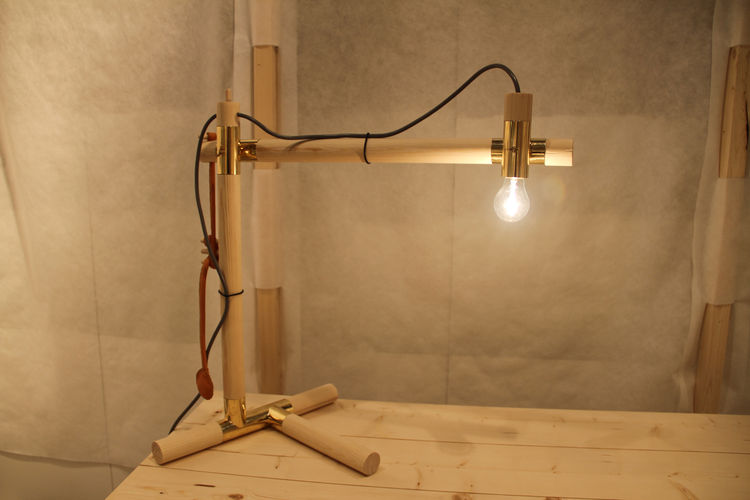 "Myrstacken, a task lamp and table concept by Konstfack student <a href=""http://www.fransfelix.se"">Frans Felix Ahlberg Eriksson</a>, was displayed in the Greenhouse."