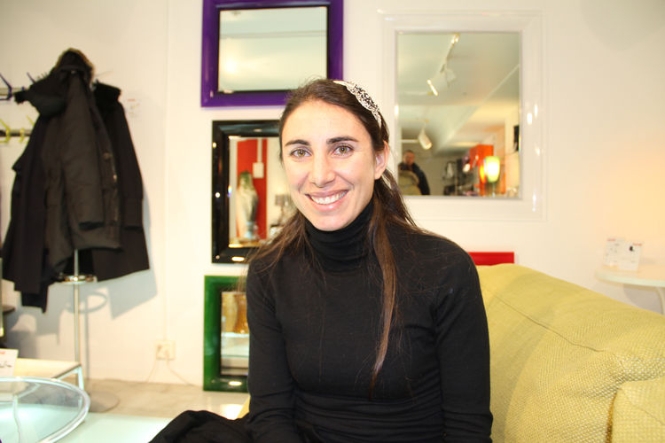 """<a href=""""http://www.dwell.com/articles/take-four-well-designed-shoes.html"""">Lorenza Luti</a>, director of marketing and retail for Kartell. We had a nice chat about her creative contributions at the company, growing up in Milan, and some exciting projects"""