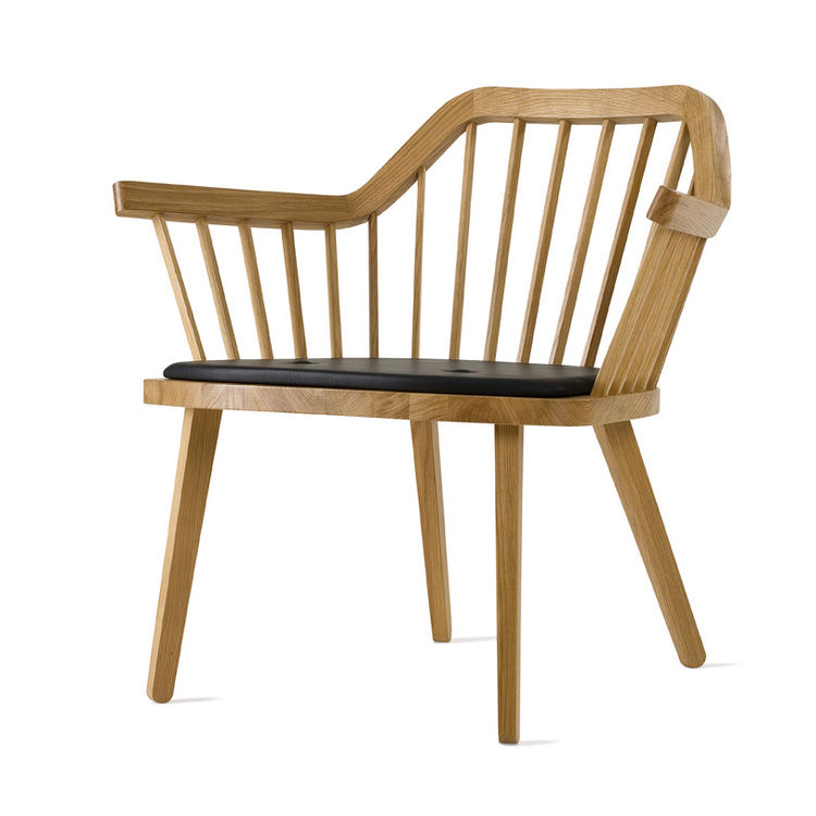 "The Stick Chair, designed by Jonas Lindvall, is made of oak.  Resellers and international agents can be found on the <a href="" http://skandiform.se/webmodules/retailers/retailers.aspx?tabIndex=5&languageId=1 "">Skandiform website</a>."