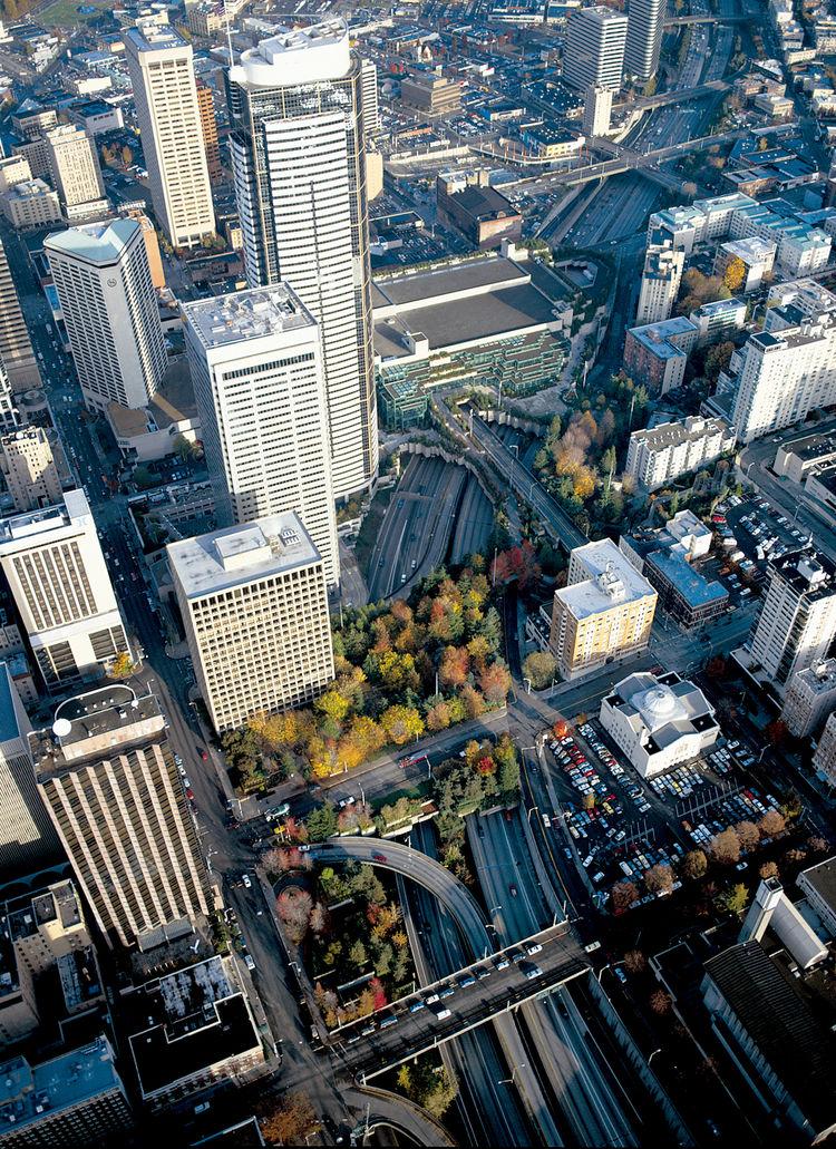 Washington DC aerial landscape