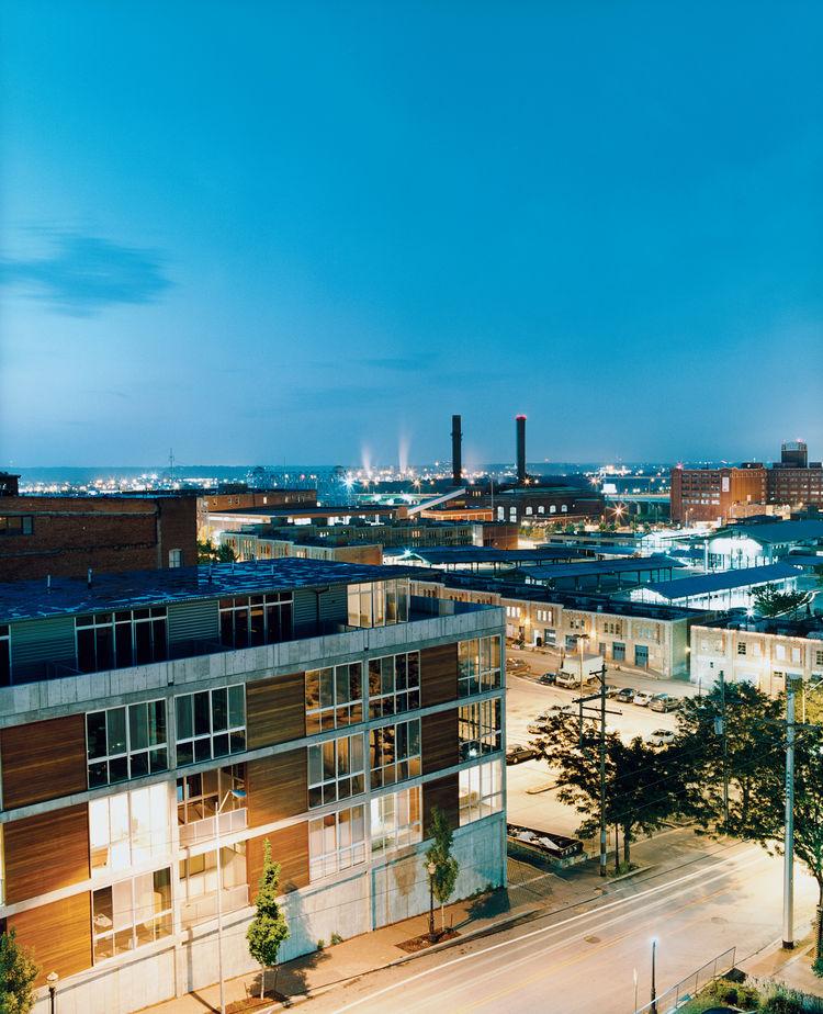 kansas city, apartment building, 5 delaware