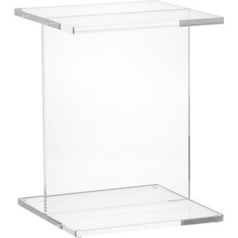 Acrylic Drink Table CB2