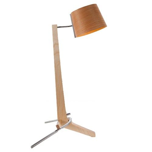 Modern wooden LED table lamp