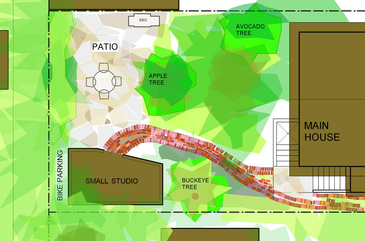 "The siteplan. Image courtesy <a href=""http://www.deedsdesign.com"">Deeds Design</a>"