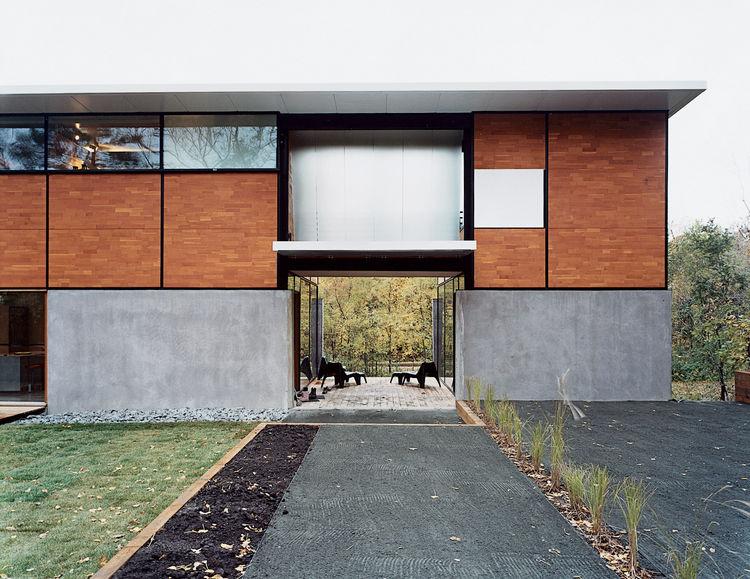 Modern kit home in Minnesota