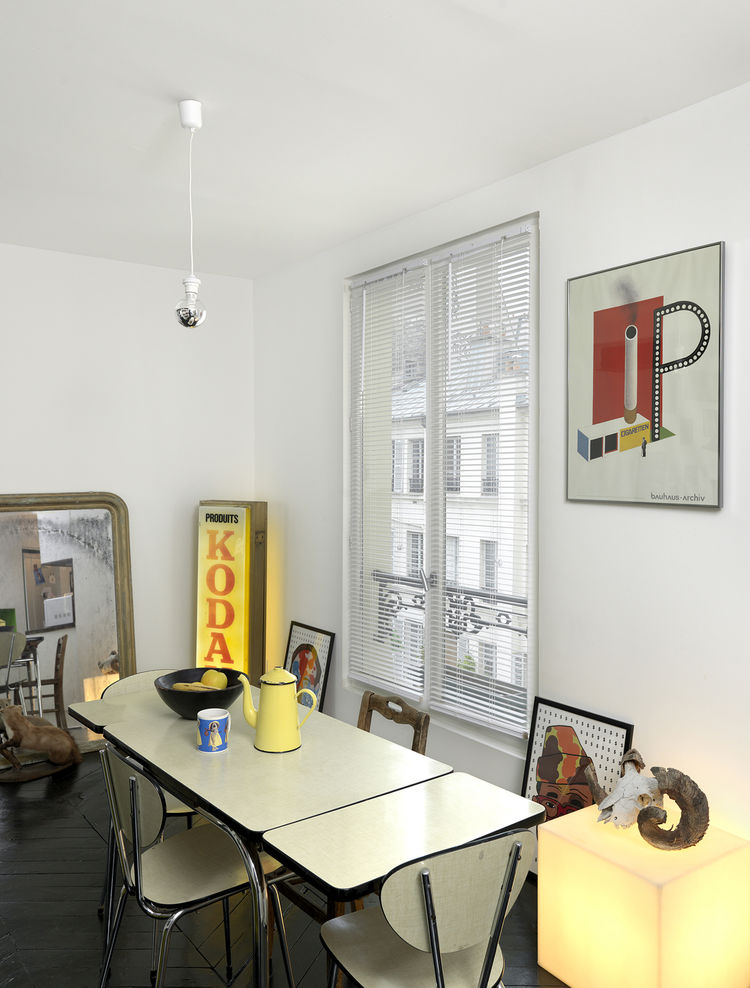 front and back apartment dining room posters